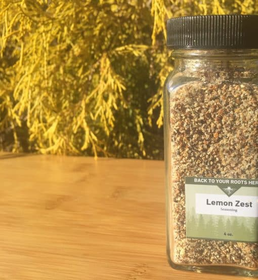 Back To Your Roots Herbs Lemon Zest Seasoning
